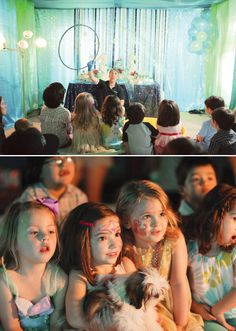 """Under the Sea """"Princess Mermaid"""" Birthday Party - that would be awesome to have a cool bubble show for this party"""