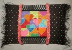 Floating Hearts by EyeCandy Needleart, needlepoint