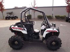 Used 2014 Polaris Sportsman ACE White Lightning ATVs For Sale in North Carolina. 2014 Polaris Sportsman ACE White Lightning, KEVIN POWELL MOTORSPORTS CHARLOTTE!!! 336-862-1766 BAD CREDIT? NO CREDIT? NO PROBLEM!!! WE TRADE FOR ANYTHING!!! 2014 Polaris® Sportsman® ACE White Lightning The powerful 32HP ProStar engine features fuel efficient, vibration free power with internal counter balance shaft, dual overhead cams, and 4 valves per cylinder while Electronic Fuel Injection precisely delivers…