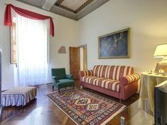 Fresco painting apartment with a large terrace #LuxuryBeddingVacations