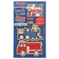 Melissa & Doug Create-A-Craft Vehicles Magnets $9.90 www.mamadoo.com.au #mamadoo #artsandcrafts