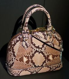 Snakeskin design -2013 LV Collection