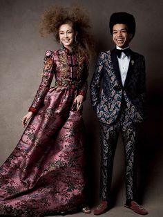 Vogue US April 2017 Gigi Hadid by Patrick Demarchelier