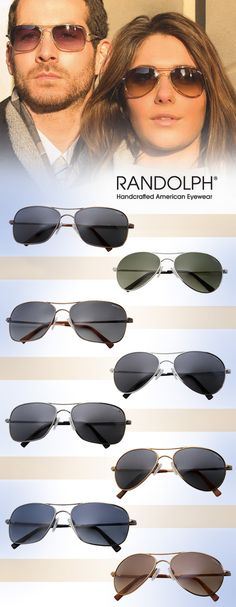 Randolph Sunnies Pay Homage to Legendary Pioneers: http://eyecessorizeblog.com/2015/04/randolph-sunnies-pay-homage-legendary-pioneers/