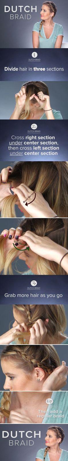 How To: The Dutch Braid