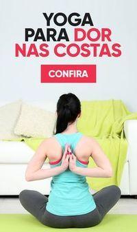 Os exercícios de Yoga são ótimos para alongar os músculos, combatendo a dor nas costas depois de um dia cansativo de trabalho, estudo ou de postura inadequada. Estes exercícios são fáceis de fazer e podem ser feitos em casa, com alguma cautela.