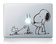 Snoopy Marshmallow Picnic Apple Macbook Laptop Sticker Air/Pro/Retina 13/15/17"