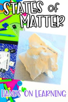 Engage your students in hands-on learning with a states of matter activity for upper elementary science! Your 4th, 5th, and 6th grade science students will love working together to observe how substances can change states through their observations of a solid, liquid and gas. This inquiry based states of matter activity is perfect for reviewing the characteristics and states of matter.
