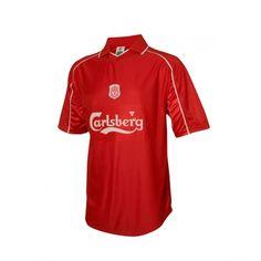 retro 2000 Liverpool home jersey