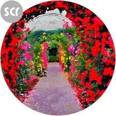 """ Flower Arch "" Screensaver. Full version @ https://sellfy.com/p/CZrb/ Or download the freebie @ https://drive.google.com/file/d/0B3KU26iEFvu1QWF3UEZ2bk1yM00/view?usp=sharing"