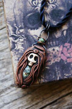 Birth, Death and Rebirth, Wild Spirit Necklace, Wild Woman, Birth, Death and Rebirth Goddess Necklace.