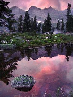 Ergaki national park. Khakassia. Siberia.