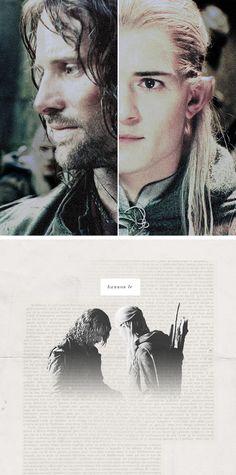 Aragorn and Legolas