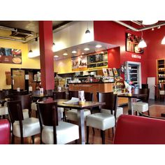 Insomnia Coffee Company, a coffee house chain in Dublin, Ireland (Interior 1)