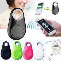 Wireless Smart Finder Bluetooth 4 0 Tracer GPS Locator Alarm Keys Tracker Black | eBay