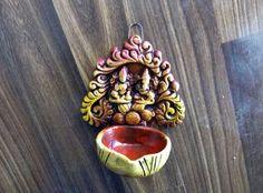 Hanging lakshmi ganesh diya