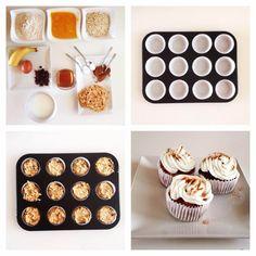 Dýňové muffiny - Fitness Recepty