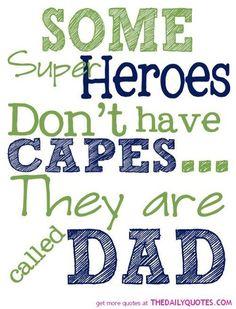 super hero dad poem - Google Search