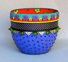 Handmade paper bowl