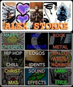 Royalty Free Music by Alex Stokke Hip Hop Logo, Royalty Free Music, My Music, Horror, Feelings