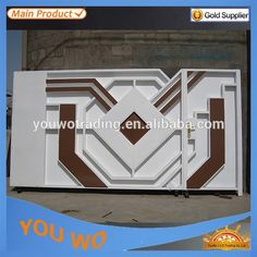 Source best design China cheap solid steel main gate 15 YEARS FACTORY! High quality electronic gate on m.alibaba.com