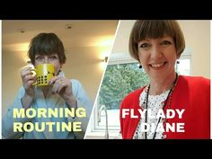 If I had to pick one part of The FlyLady method that is most important it would be the morning routine. A well-designed routine can make all the difference in avoiding household chaos. Fly Lady Cleaning, Zone Cleaning, Cleaning Tips, Morning Routine Youtube, Morning Routines, Daily Routines, Flylady Zones, Flylady Control Journal, How To Have A Good Morning