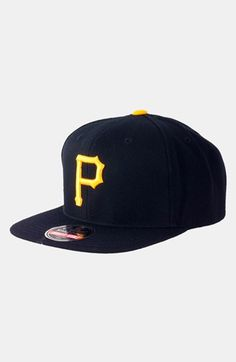 ee2a11f7026 Men s American Needle  Pittsburgh Pirates 1949 - 400 Series  Snapback  Baseball Cap - Black