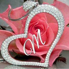 M Letter Design, Alphabet Letters Design, Alphabet Art, Letter Art, Beautiful Love Images, Good Night Love Images, Love Heart Images, Words Wallpaper, Alphabet Wallpaper