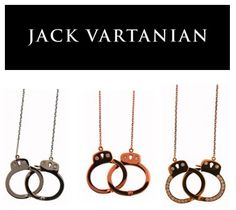 Kelly loves her handcuff necklace by Jack Vartanian!