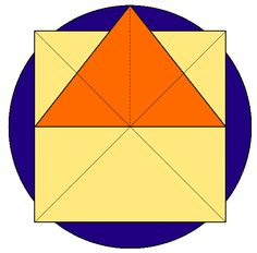 Sacred Geometry - Golden_Ratio in the Great Pyramid Squaring the Circle