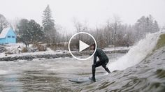 """""""The worse the weather, the better the waves."""" With that wild approach, surfers Alex Gray and Alex Brost chased a low-pressure system across the Midwest to the shores of Lake Superior, where icy swells spiraled, tempting any surfer brave enough to tolerate the cold. Superior Surf is a film byPranaLensabout the science and thrill of catching those waves. You can follow PranaLens on Facebook here and on Instagram here."""