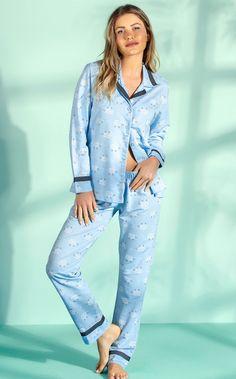 MIXTE PIJAMAS • Fall-Winter 2019 Pijamas Women, Pyjamas, Pj, Nightwear, Ideias Fashion, Fall Winter, Sleep, Lingerie, Womens Fashion
