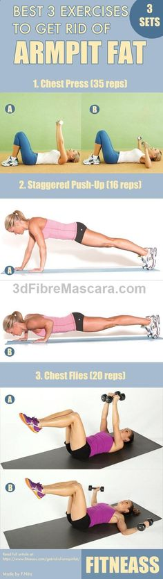 See more here ► www.youtube.com/... Tags: best ways of losing weight, best and quickest way to lose weight, best way to lose weight in 2 weeks - Best 3 Exercises To Get Rid Of Armpit Fat #strong #fitness #diet #dieting #lowcalories #dietplan #excercise #diabetic #diabetes #slimming #weightloss #loseweight #loseweightfast