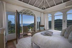 Bedroom St John rental villa Mystic Ridge, St John USVI