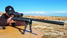 Savage model 12 lrp rifle