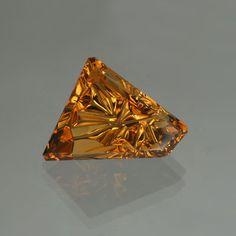 Citrine gemstone cut by John Dyer