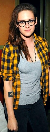 Kristen Stewart at the 2014 Sundance Film Festival she looks so sexy with them spec