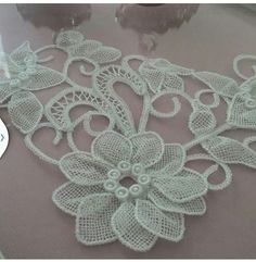 Mani Singh's media content and analytics Hobbies And Crafts, Diy And Crafts, Fabric Flowers, Crochet Necklace, Embroidery, Jewelry, Content, Bath Linens, Crochet Flowers