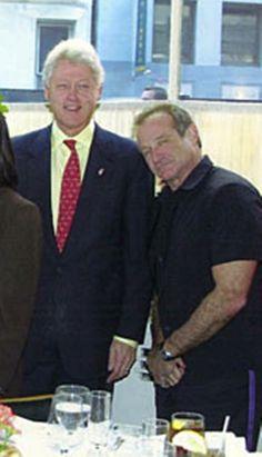 Robin and President Bill Clinton!