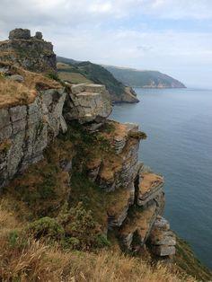 Valley of the Rocks Lynton, North Devon - part of the SW Coastal path 630miles long