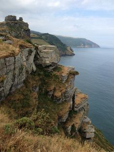 Valley of the Rocks Lynton, North Devon - my favourite part of the SW Coastal path 630miles long