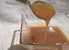 Paradiso dei Dolci VeganSalsa al caramello salato A cura di Paola Laura Fabbri. Il caramello salato si sposa molto bene con il cioccolato e con la panna cotta. Adatto per farciture o decorazioni sia per preparazioni dolci sia salate. Ingredienti: 200 gr. di zucchero, quello che preferite 200 gr. di panna vegetale da cucina, non è necessario usare quella da montare. 80 gr. di burro vegetale, preferibilmente burro di cacao (burrolì, margarine) 5 gr. (un cucchiaino) di fior di sale, l'ideale…