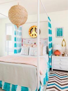 Bright New Year in the USA, design, decor, interior, bedroom, white, bright, usa, newyear