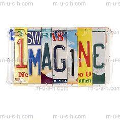 IMAGINE License Plate Art