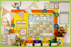 Classroom Themed Décor – Sock Monkey Bundle from Classroom Inspirations on TeachersNotebook.com -  (180 pages)  - The Sock Monkey Classroom Theme Bundle is so cheerful and whimsical in orange, yellow, green and blue. This complete pack includes all of the Sock Monkey products, a huge 165 pages.