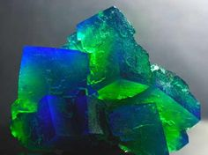 Photo by Rainer Hermanns of a stunning Fluorite!
