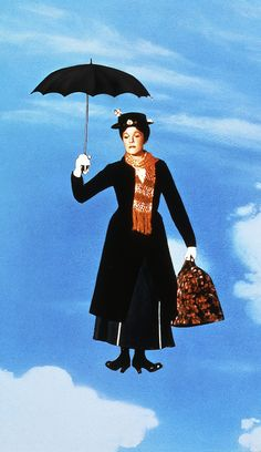 A classic: Based on the book by novelist P. Travers, the Oscar nominated Mary Poppins film was released in 1964 and starred Julie Andrews as the iconic nanny and Dick Van Dyke, who will also be appearing in the sequel Mary Poppins 1964, Julie Andrews Mary Poppins, Mary Poppins Movie, Walt Disney, Disney Love, Disney Magic, Disney Pixar, Disney Characters, Fictional Characters