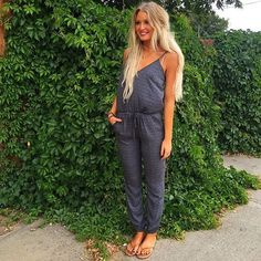 Who doesn't love a jumpsuit!?! Thanks @thr3eclothing for the