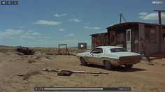"""From """"Vanishing point"""", 1971. Director of photography: John A. Alonzo"""