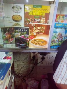 """#ProudMoments: When my friend Salma Khan sees my book #sindhiCuisine at a #bookstore called V.L.Nayak in #Khar, she proudly tells the owner """"That's my friend, pushee's book, you know"""""""